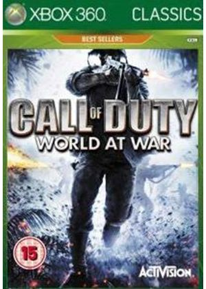 Call of Duty - World at War - (Classics) (Xbox 360)