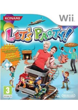 Let's Party - includes Dance Mat (Wii)