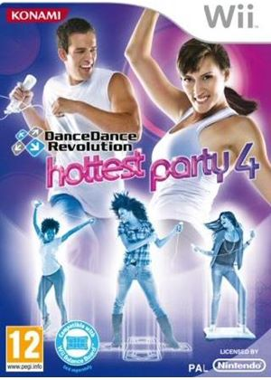 Dance Dance Revolution: Hottest Party 4 (With Dance Mat) (Wii)