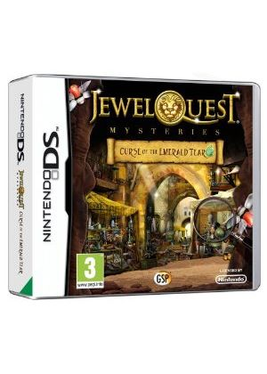 Jewel Quest Mysteries - Curse of the Emerald Tear (Nintendo DS)