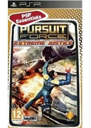 Pursuit Force - Extreme Justice - Essentials (PSP)