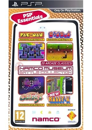 Namco Museum Battle Collection - 20 Arcade Classics (PSP)