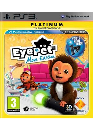 EyePet - Move Edition - Platinum (PS3)