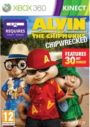 Alvin and the Chipmunks - Chipwrecked - Kinect (XBox 360)