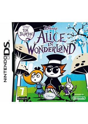 Tim Burton's Alice In Wonderland (Nintendo DS)