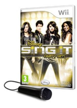 Disney Sing It - Party Hits (with Mic) (Wii)