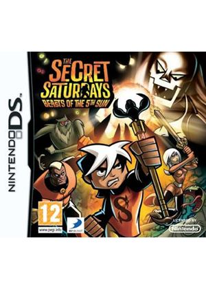 Secret Saturdays - Beasts of the 5th Sun (Nintendo DS)