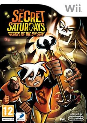 The Secret Saturdays: Beasts of the 5th Sun (Wii)
