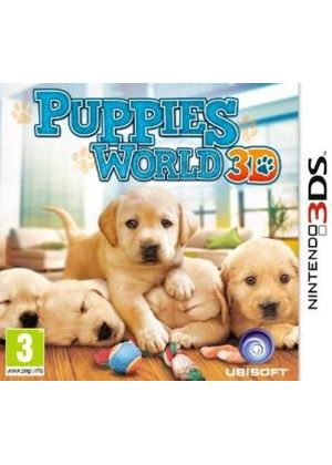 Puppies World 3D (Nintendo 3DS)