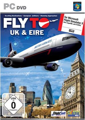 Fly to The UK and Eire Add-On for FS 2004 and FSX (PC DVD)