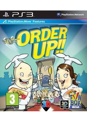Order Up!! (Move Compatible) (PS3)
