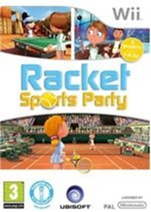 Racket Sports Party with Camera (Wii)