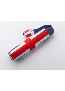 Union Jack Flag Folding Umbrella