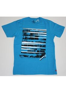 Lightning Palm S/S Tee (Medium)(TURCHESE BLUE)