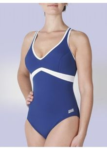 Wyomi V Neck X back Swimsuit (10)