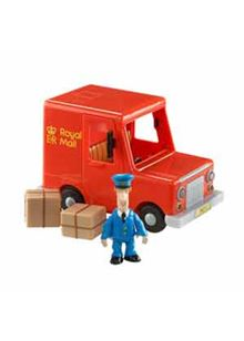 Postman Pat Vehicle and Accessory - Pat's Royal Mail Van