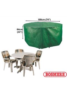 Circular Patio Set Cover 4-6 Seater