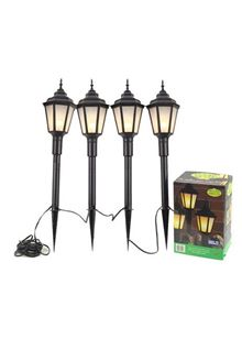 Garden lighting mains or low voltage