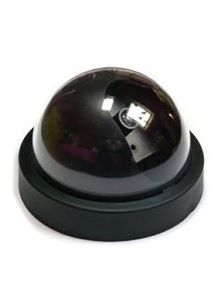 UKayed Imitation Dummy Security Camera Dome With Flashing LED Light
