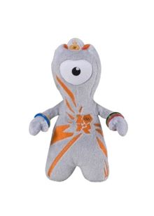 London 2012 Olympics - 20cm Plush Wenlock