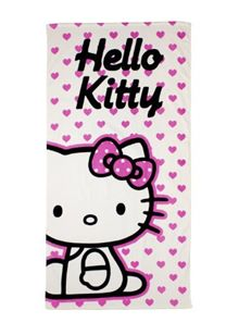 Hello Kitty Hearts Towel