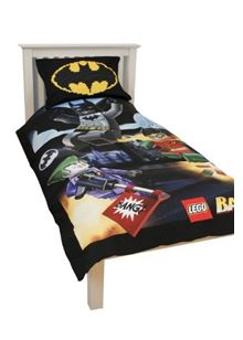 Lego Batman Bang Single Panel Duvet Set