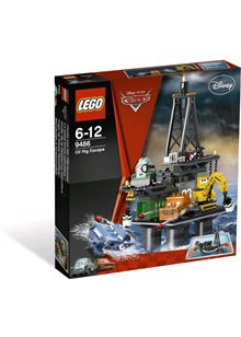 LEGO Disney Pixar Cars 9486: Oil Rig Escape