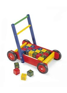 Pintoy Baby Walker with Alphabet Blocks