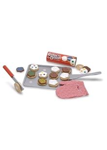 Melissa & Doug - Wooden Cookie Set
