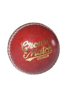 Crown Match Junior Cricket Ball - 4 3/4 oz