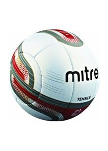 Tensile Professional Football Size 5 - White/Maroon