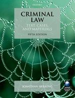 Criminal Law Text Cases & Materials