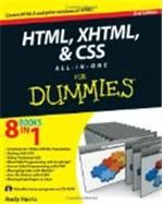 HTML XHTML & CSS All In One For Dummies