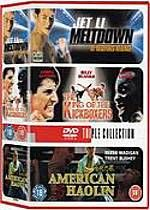 Meltdown / The King Of Kickboxers / American Haolin (Martial Arts Triple) (Three Discs)