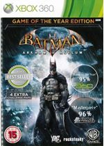 Batman: Arkham Asylum - Game of the Year (Classics) (Xbox 360)