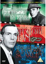 3 Classic Sherlock Holmes Films Of The Silver Screen - Vol. 2