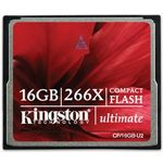 Kingston Ultimate - CF Memory Card - 16 GB - 266x - CompactFlash
