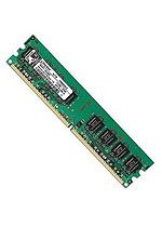 Kingston ValueRAM - Memory - 1 GB - DIMM 240-pin - DDR2 - 800 MHz - CL6 - 1.8 V - unbuffered - non-ECC # KVR800D2N6/1G
