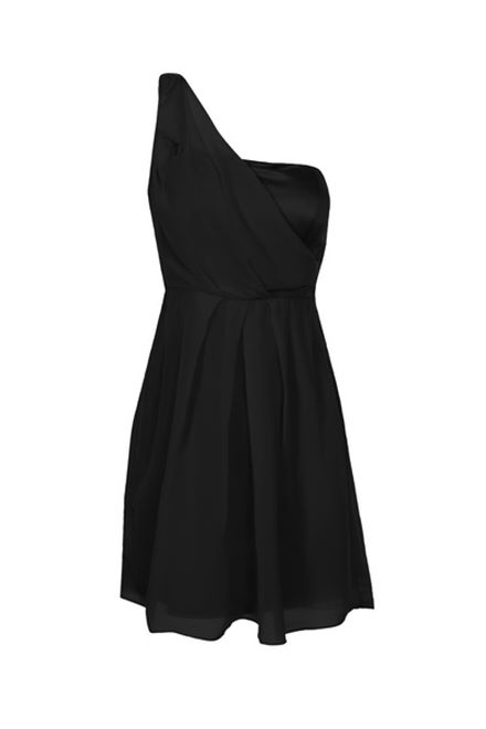 GLAMOROUS Dress - One Shoulder Party Dress In Black **BNWT**
