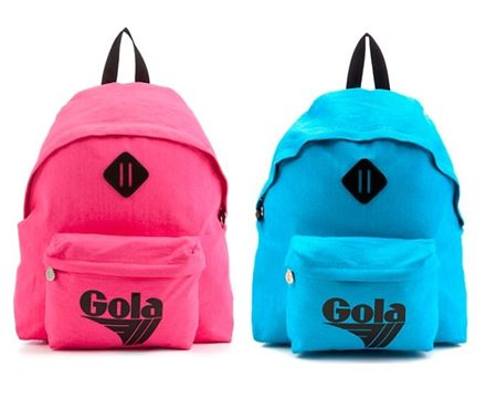 Gola Neon Pink Harlow sports Rucksack/ Backpack **BNWT**